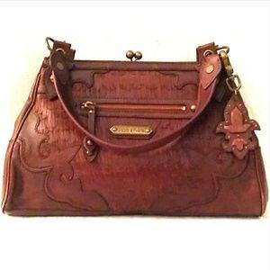 🌼SALE❣ Isabella Fiore Genuine Leather Bag MINT